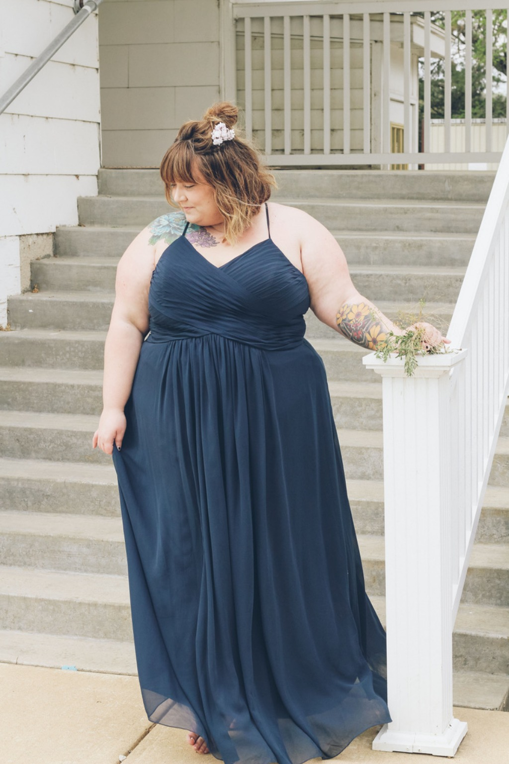 Dark Navy Bridesmaid Dresses✨😍 | Blogger Corissa