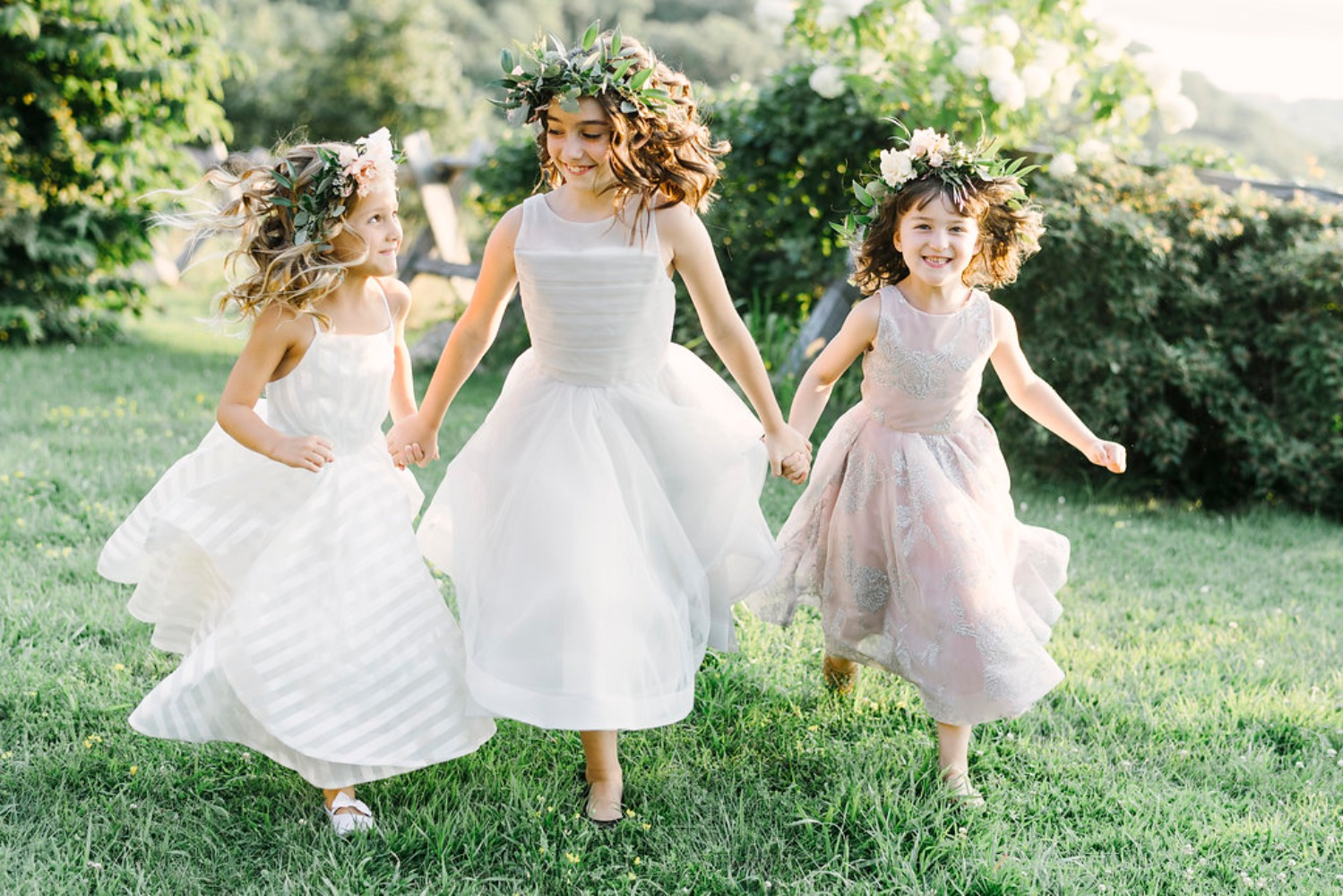 Hayley Paige flower girl dresses