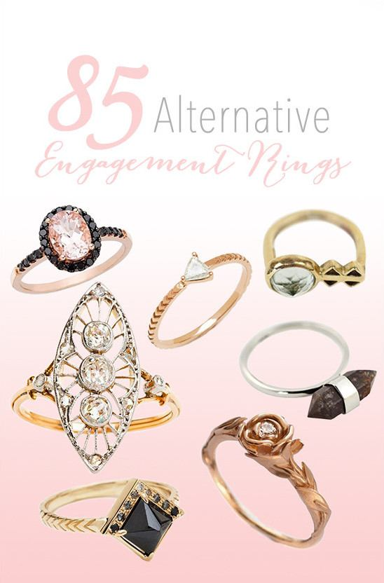 85 Alternative Engagement Rings