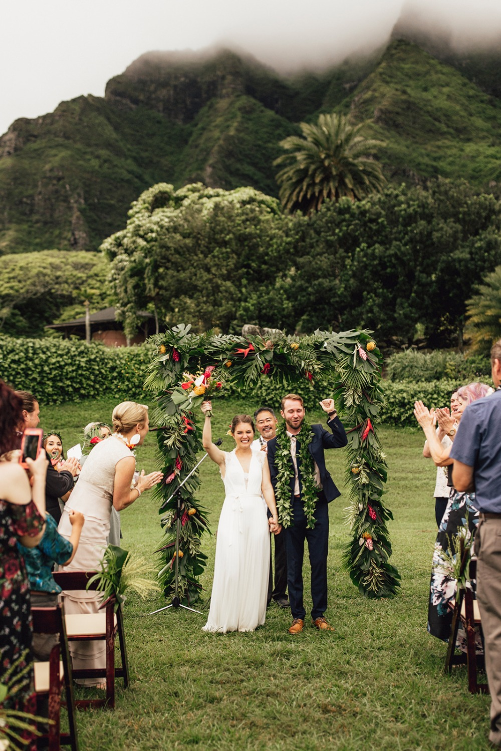 Tropical wedding in Hawaii