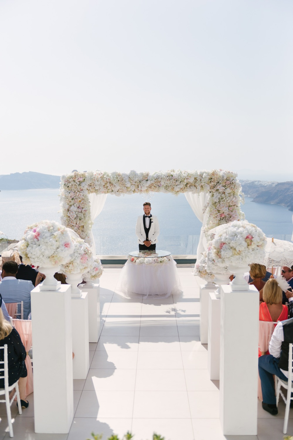 wedding ceremony in Greece