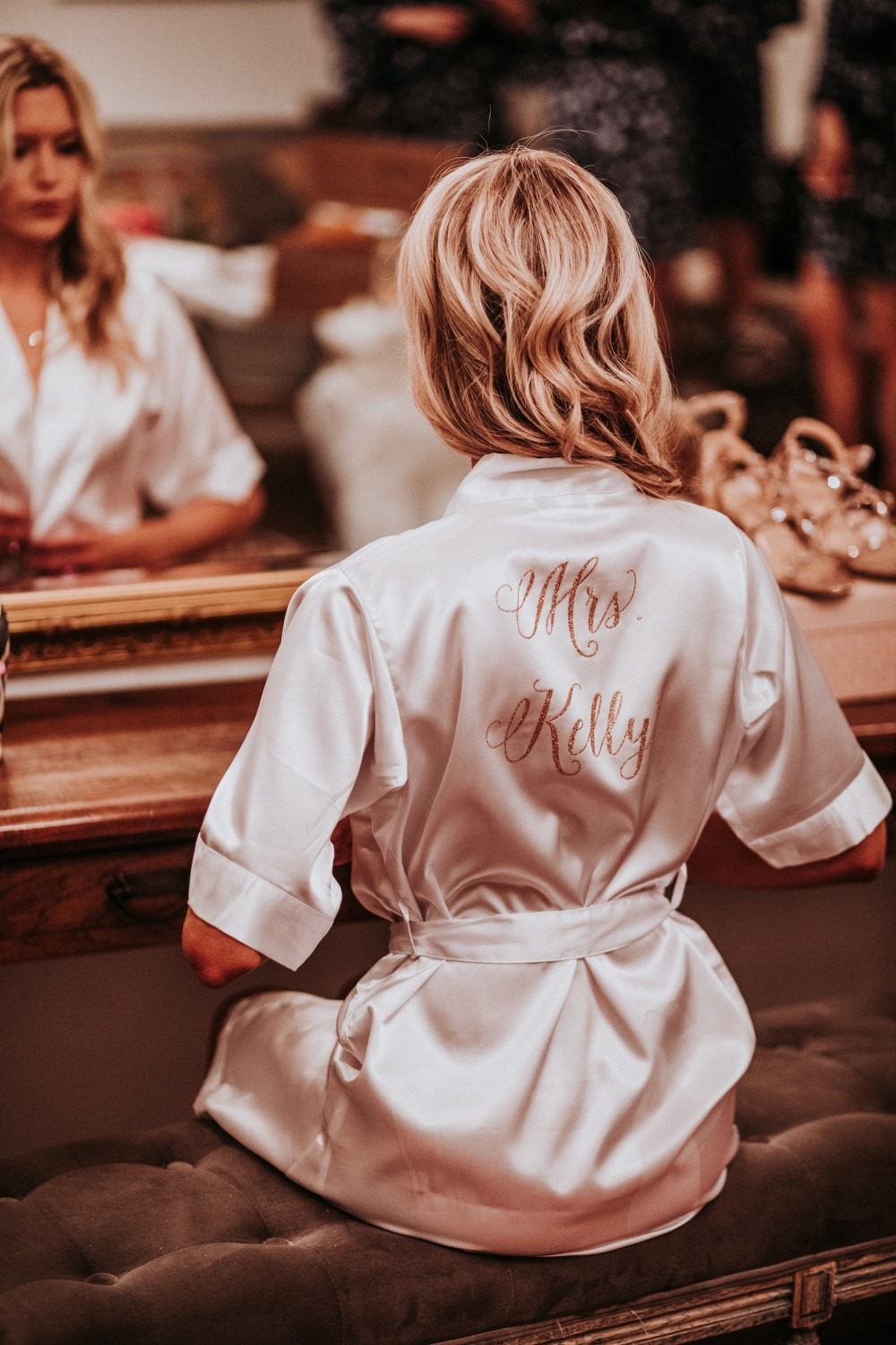 wedding robe