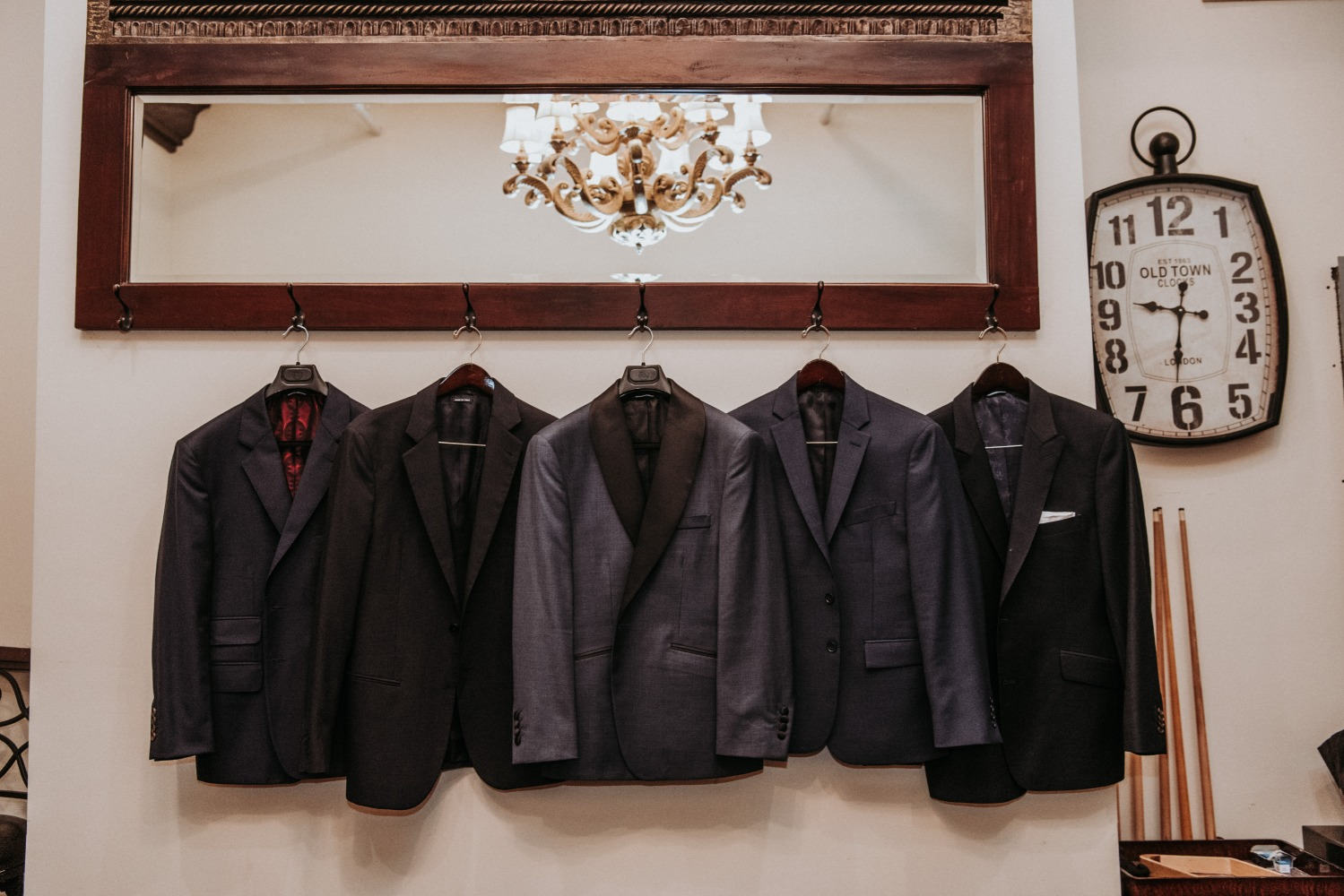 groom and groomsmen jackets