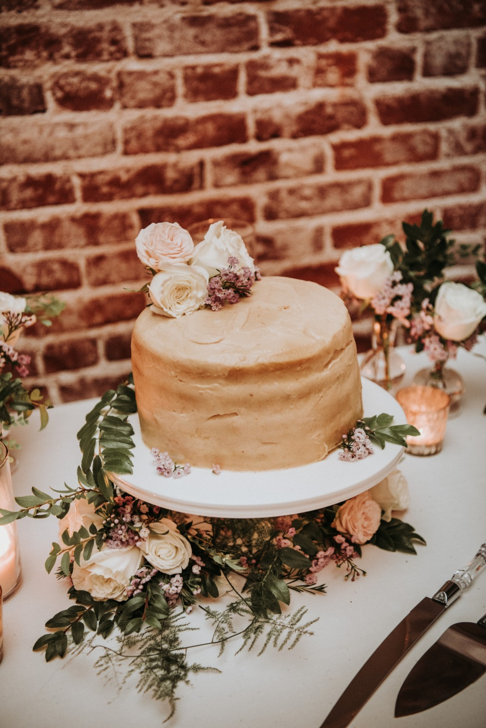 glazed wedding cake