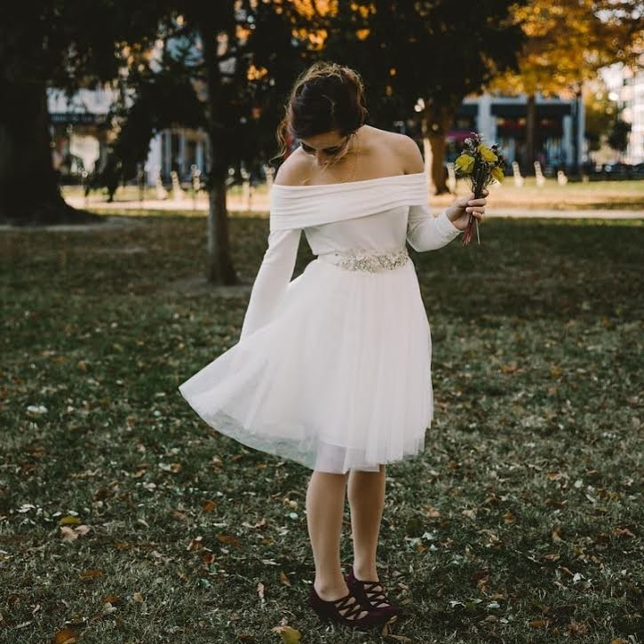 Falling in love with autumn elopements.😍 #ShopRevelry