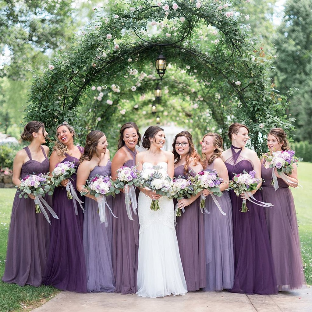 Velvet Plum and Lavender and Wisteria, oh my!💜