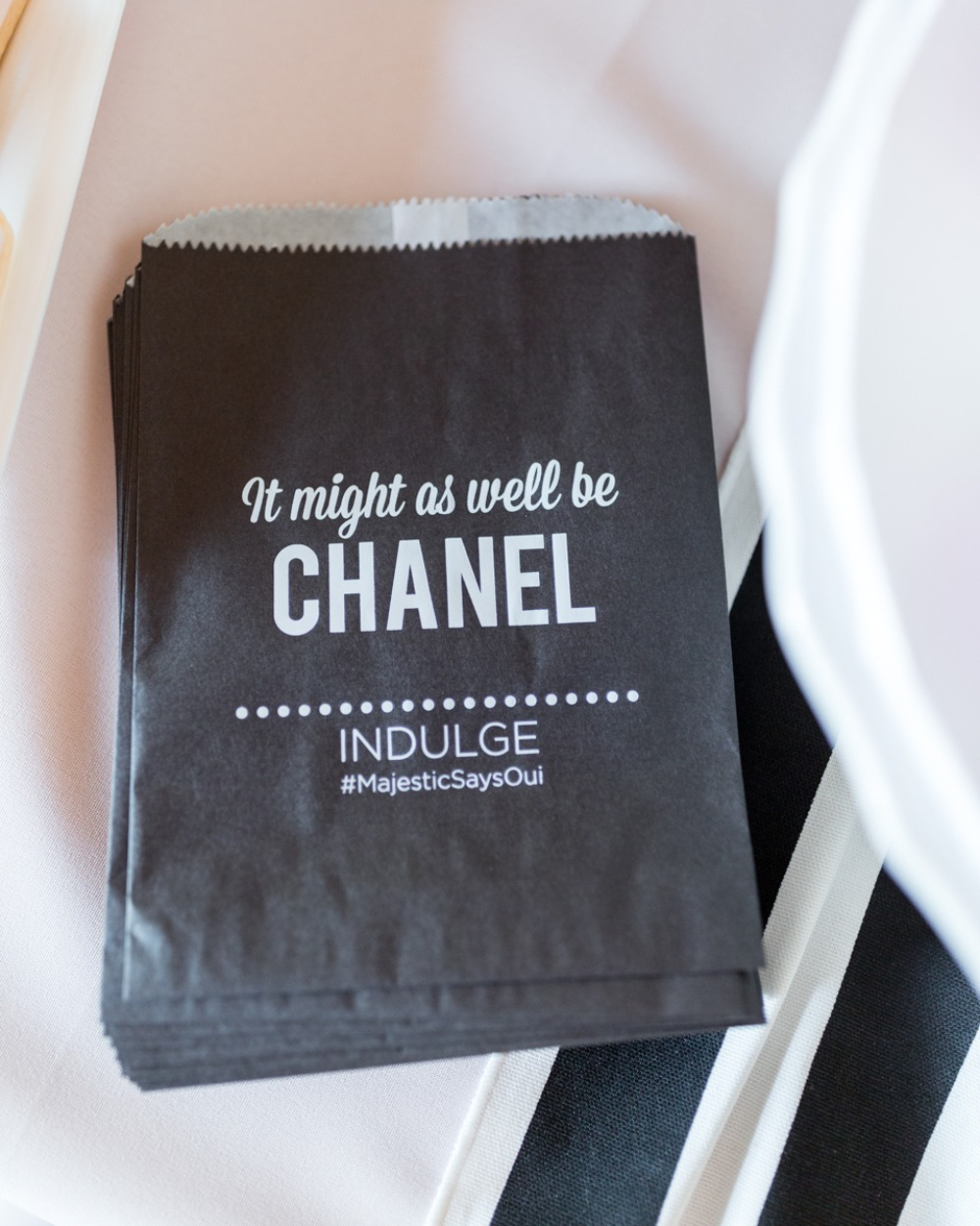 it might as well be Chanel snack bags