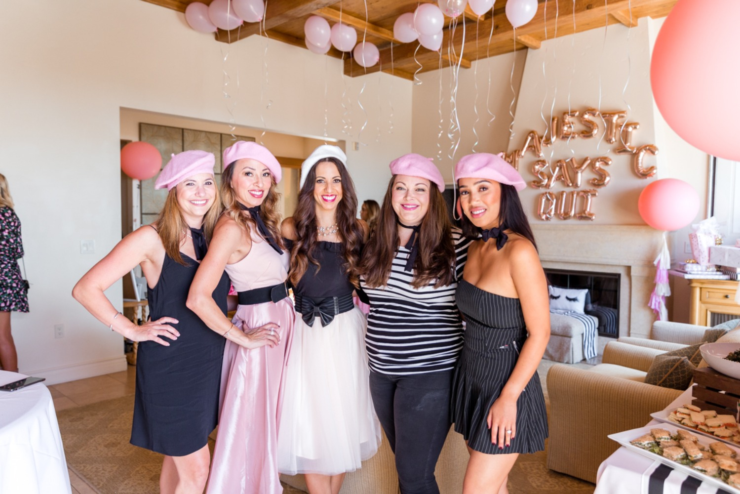 french themed bridal shower