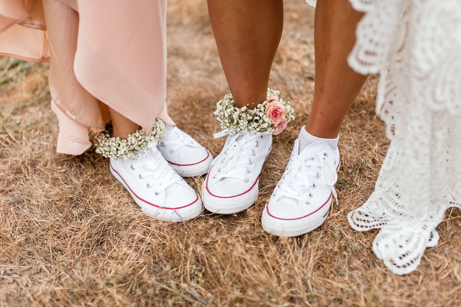 Converse for the bride and MOH