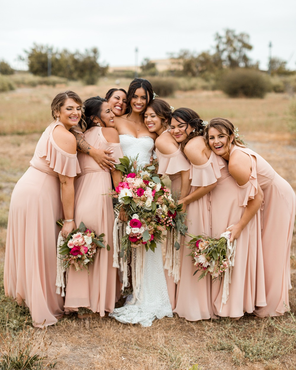 Bridesmaid dresses from Lulus