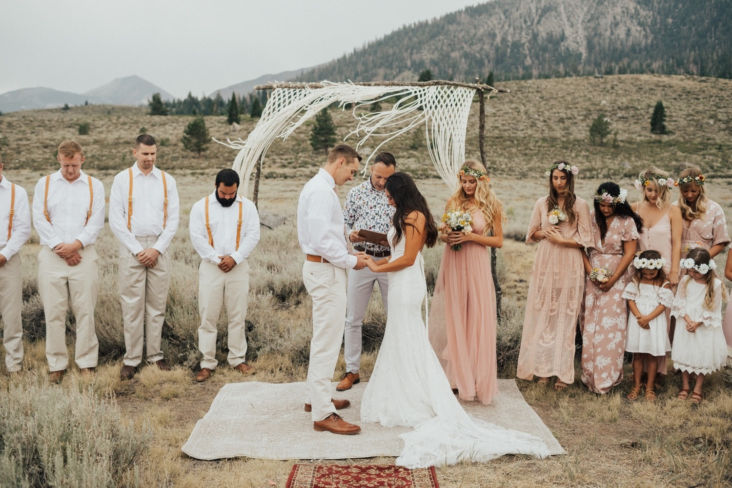 Beautiful DIY wedding
