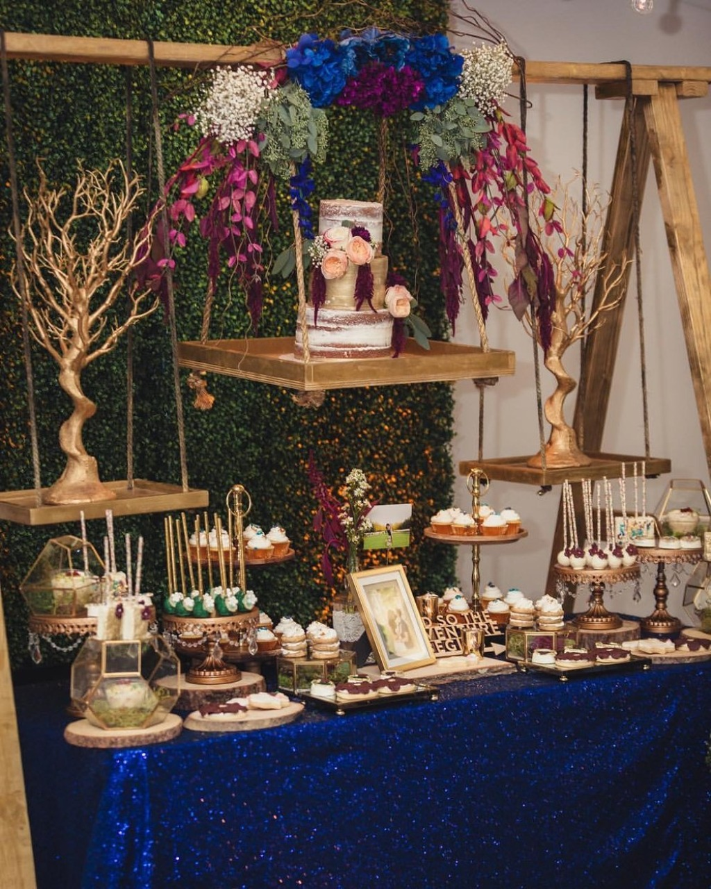 Creative Wedding Dessert Tables with Opulent Treasures collection of cake stands, dessert stands & more!