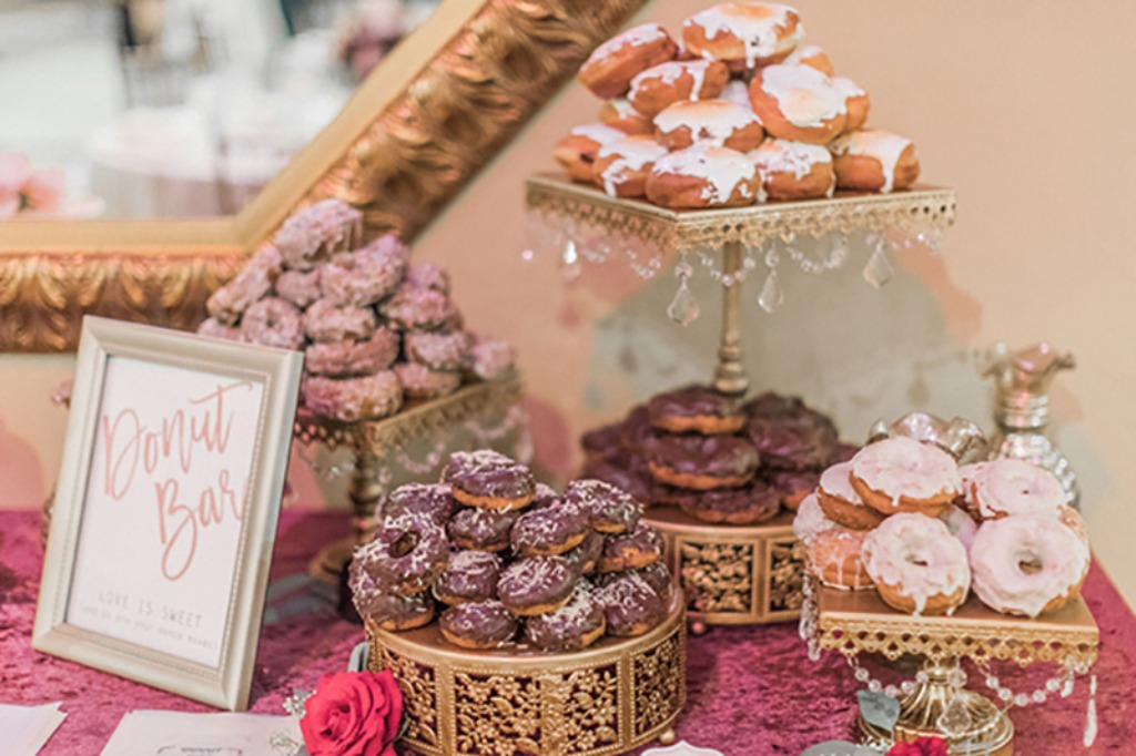 Donut Bar! Opulent Treasures collection of cake stands, dessert stands, cupcake stands & more can help you to create a stunning
