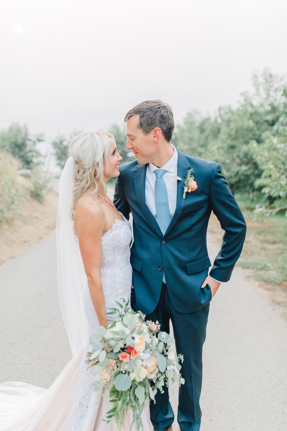 Chic garden wedding in Washington