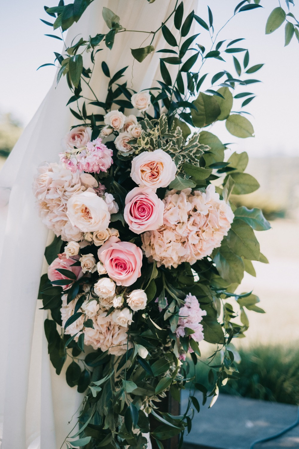 Can You Spot The Subtle Disney Theme Of This Pink And White Wedding?