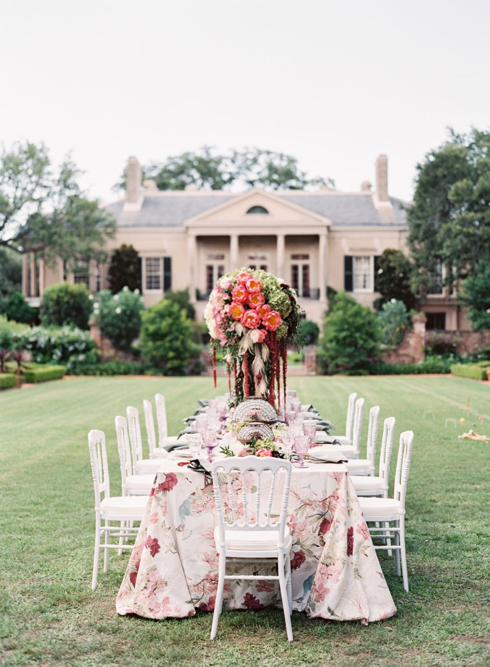 Vintage bridal luncheon ideas