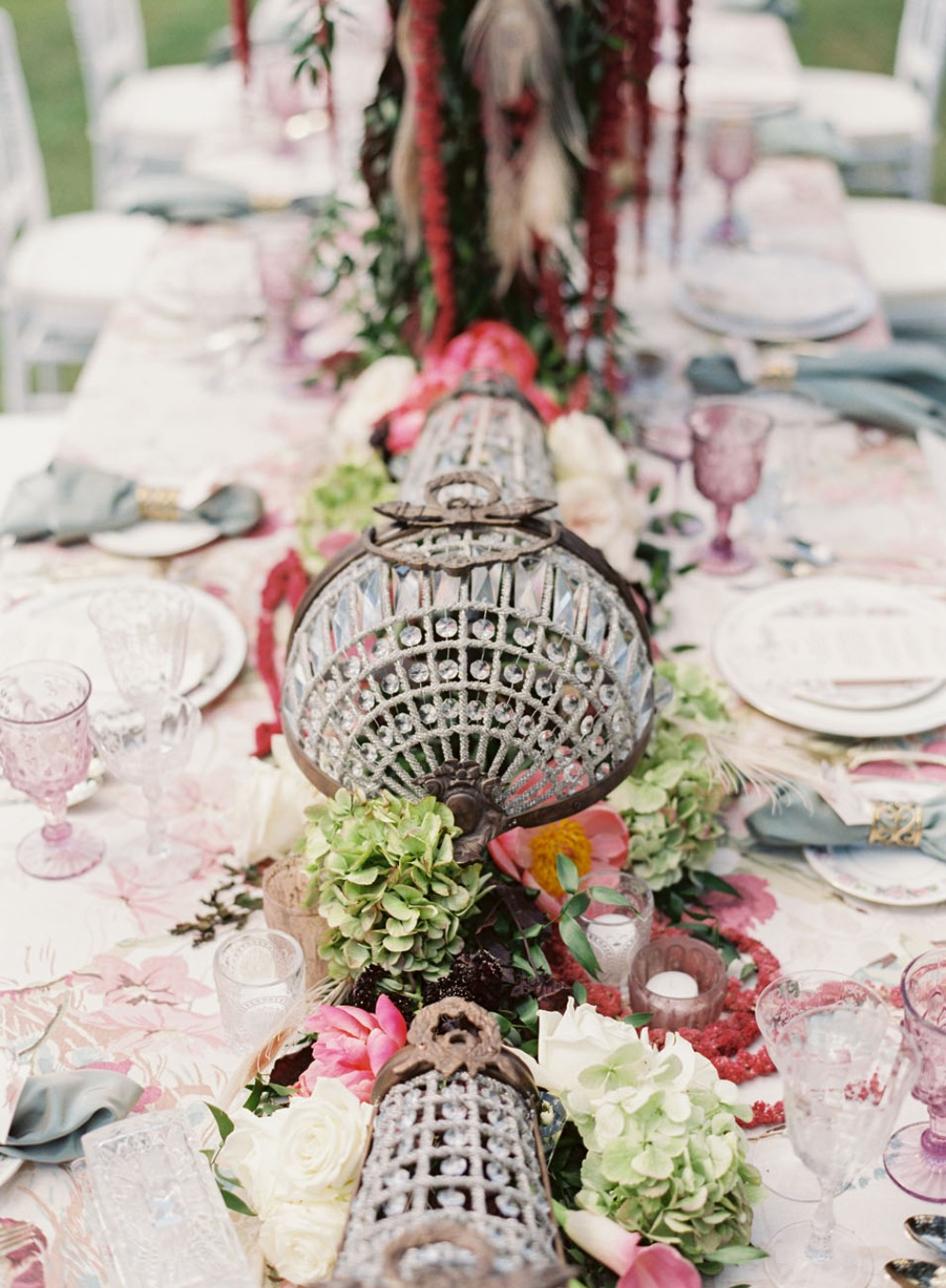 Gallery Art Nouveau Inspired Vintage Glam Bridal Luncheon
