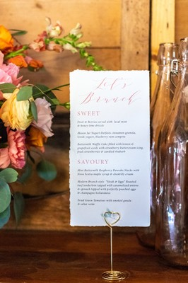 How To Have a Creative and Colorful Brunch Wedding