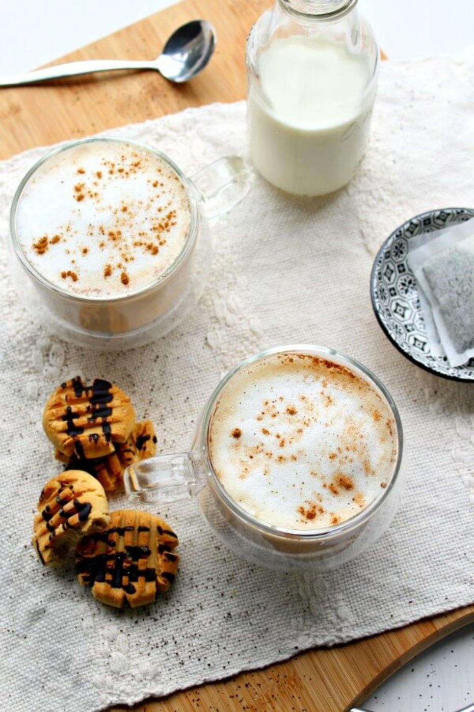 Vanilla Cinnamon London Fog Latte