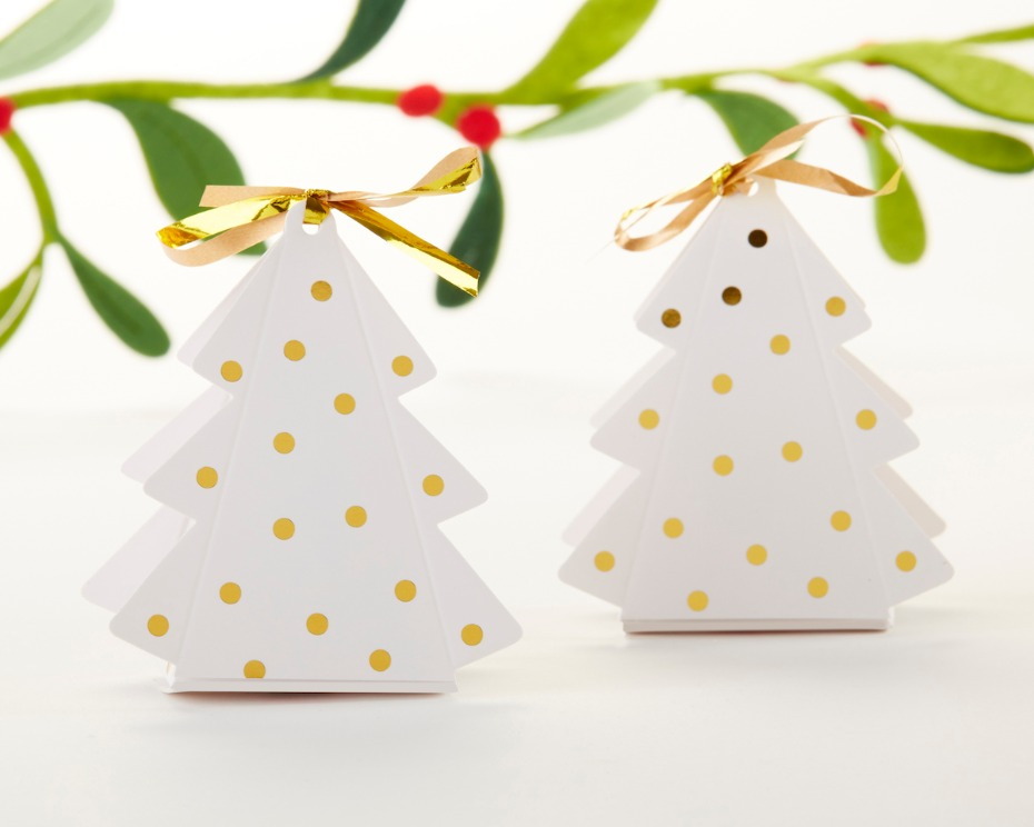Kate Aspen Christmas Tree Favor Holders