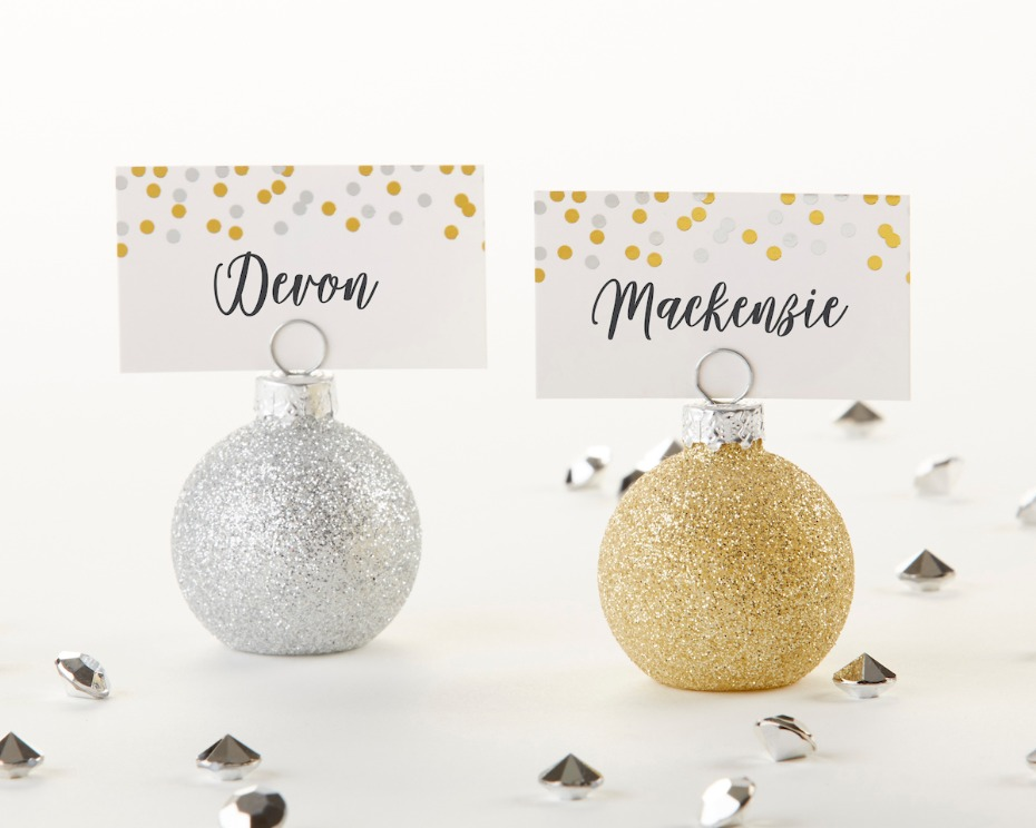 Kate Aspen Ornament Place Cards