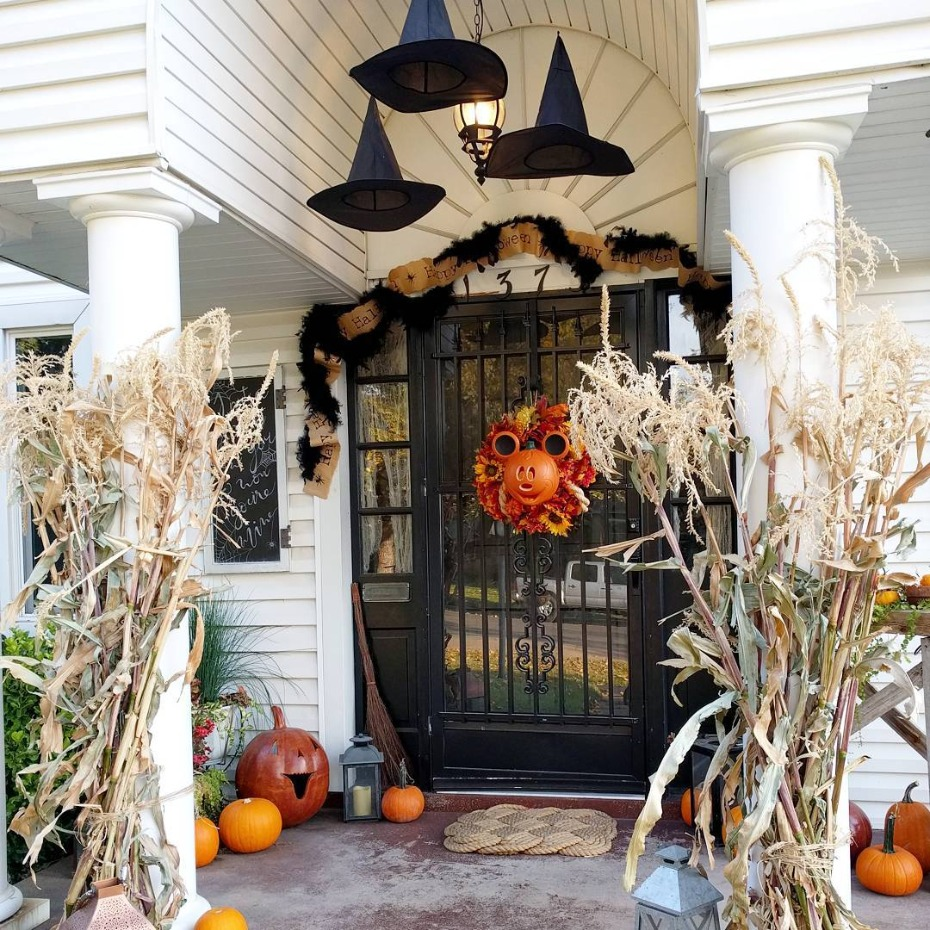 Autumn Disney Porch