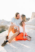 Sunset Engagement Ideas