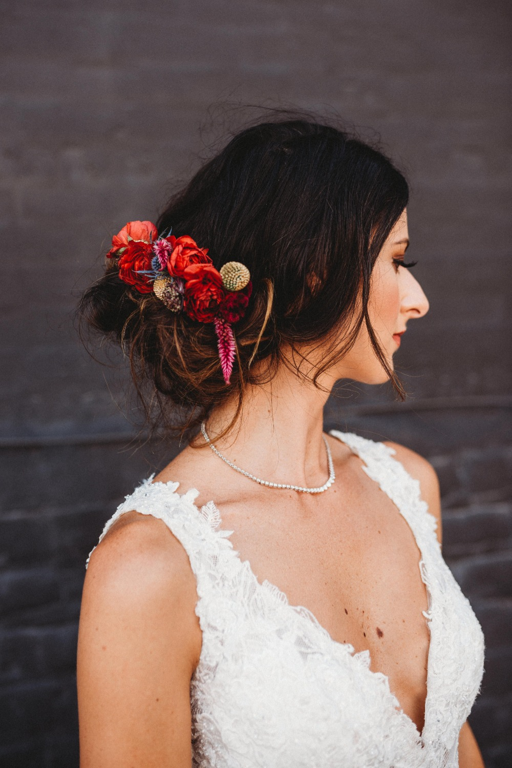 sweet floral hair accessory
