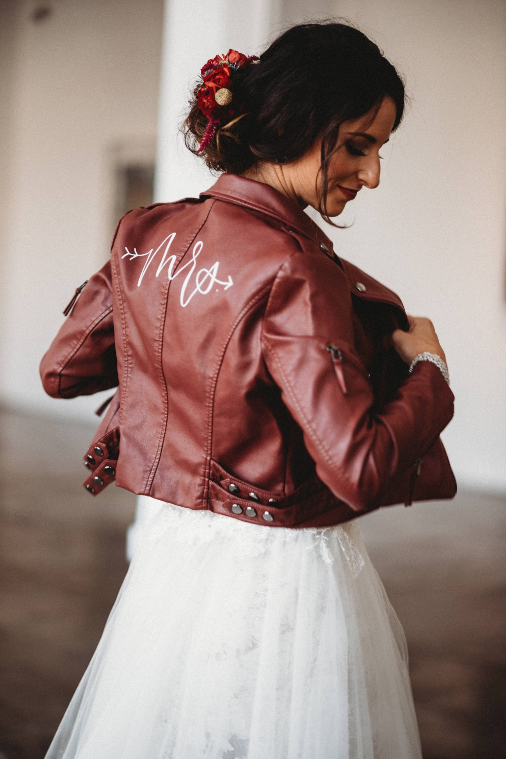 Mrs wedding jacket