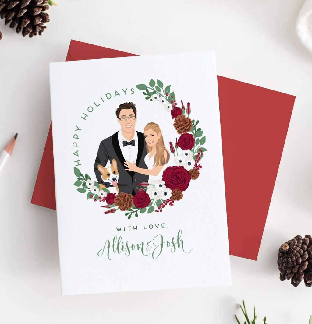 Over here at Miss Design Berry, we're gearing up for the holidays, and what better way to do that than with holiday cards?? These Holiday