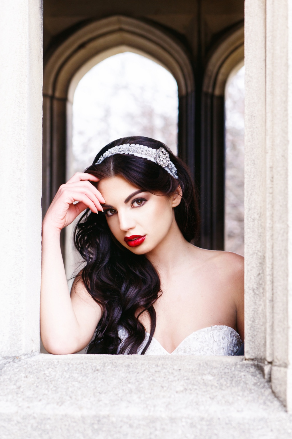 Bespoke bridal headpieces that make you feel like a princess