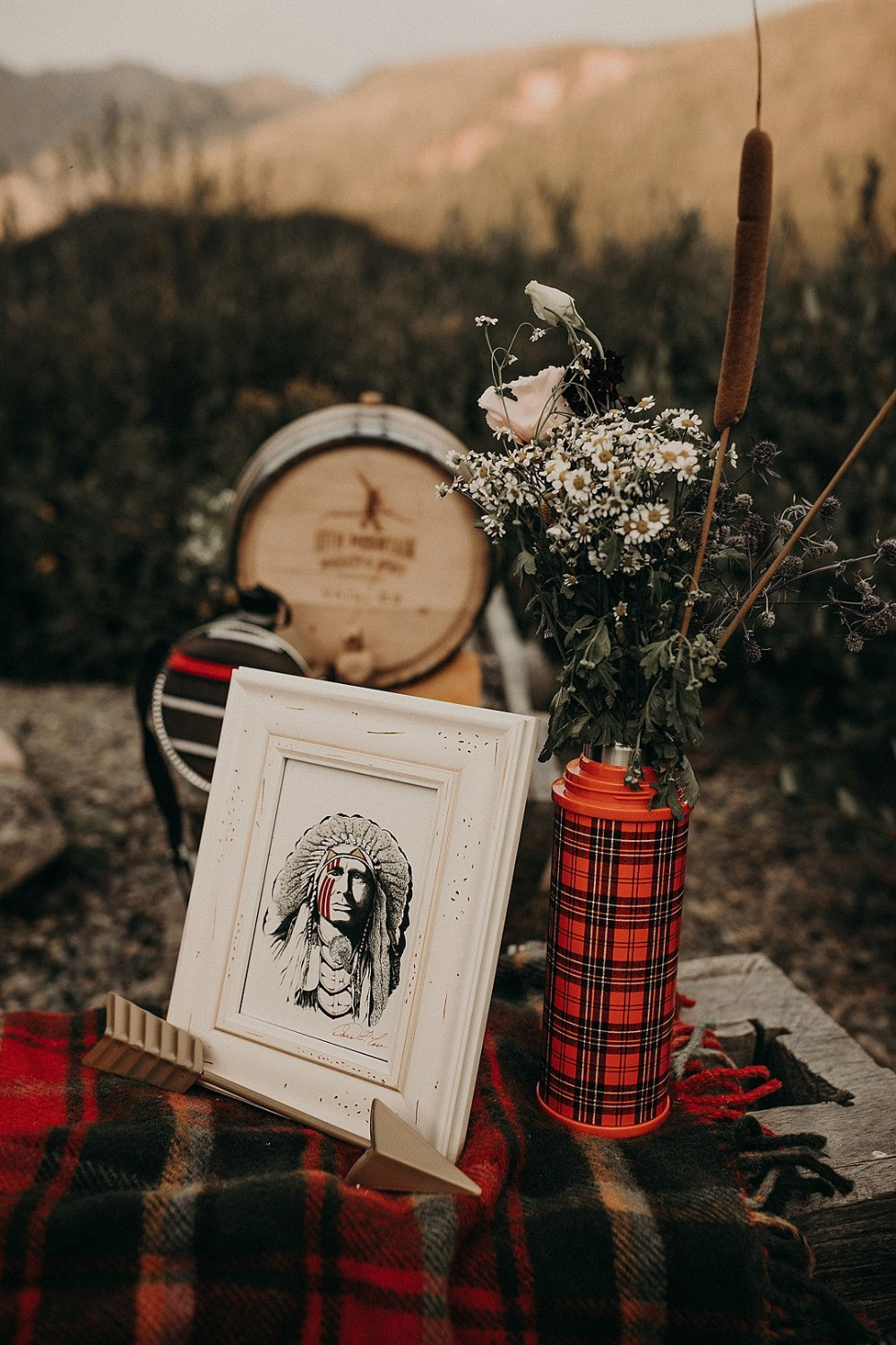Wes Anderson themed wedding