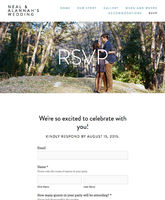 Simply Beautiful Wedding Websites With Squarespace