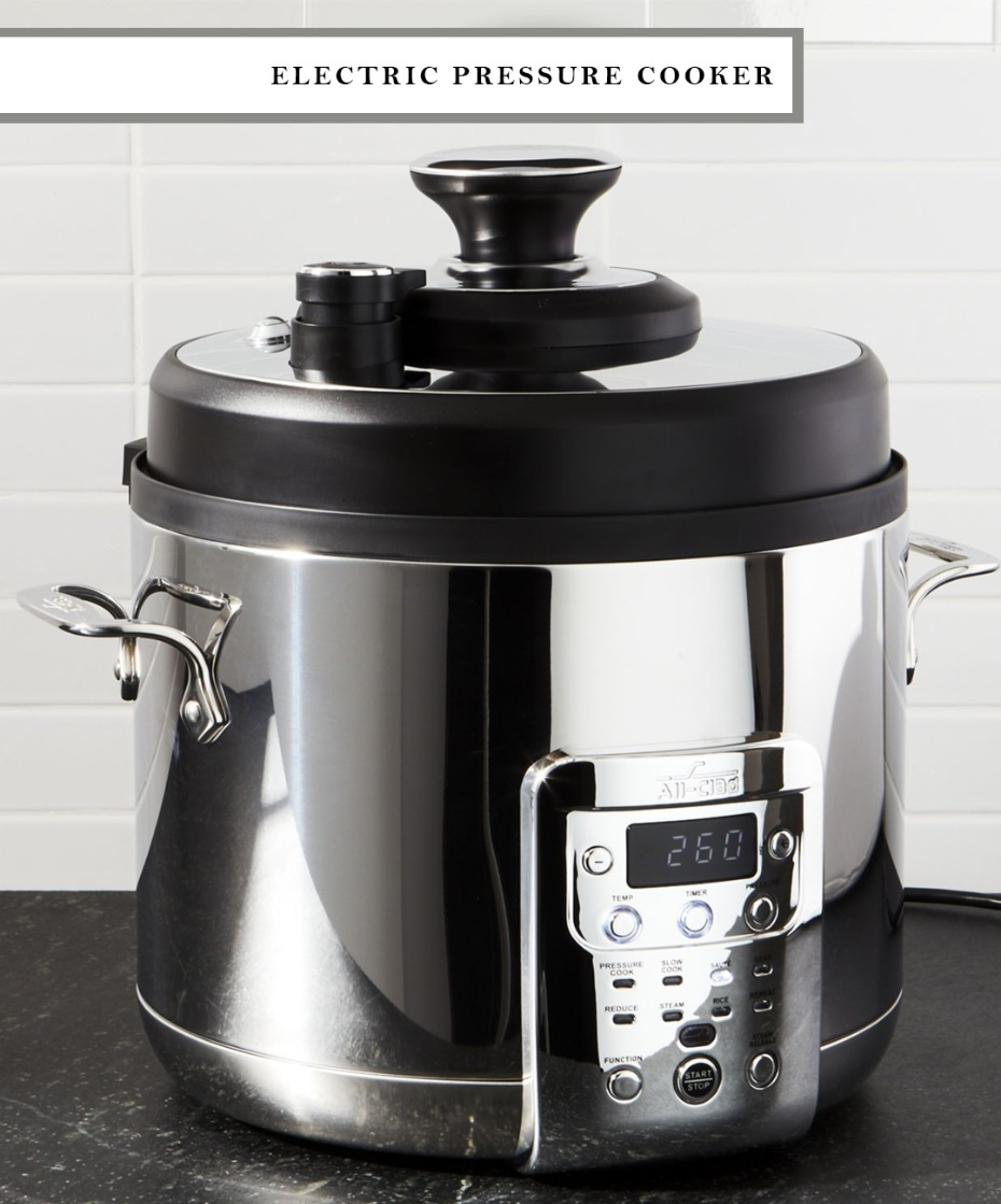 add an electric pressure cooker to your wedding registry