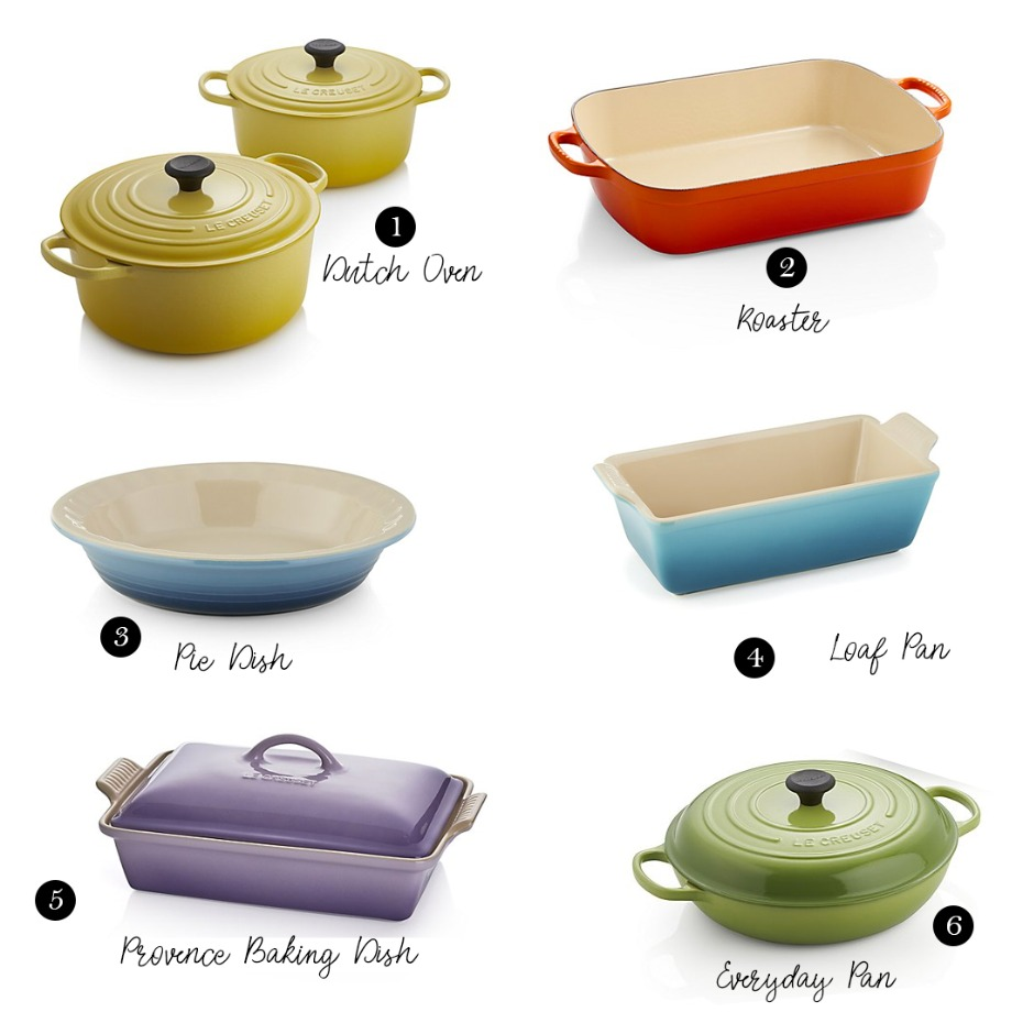 Le Creuset items to add to your wedding registry