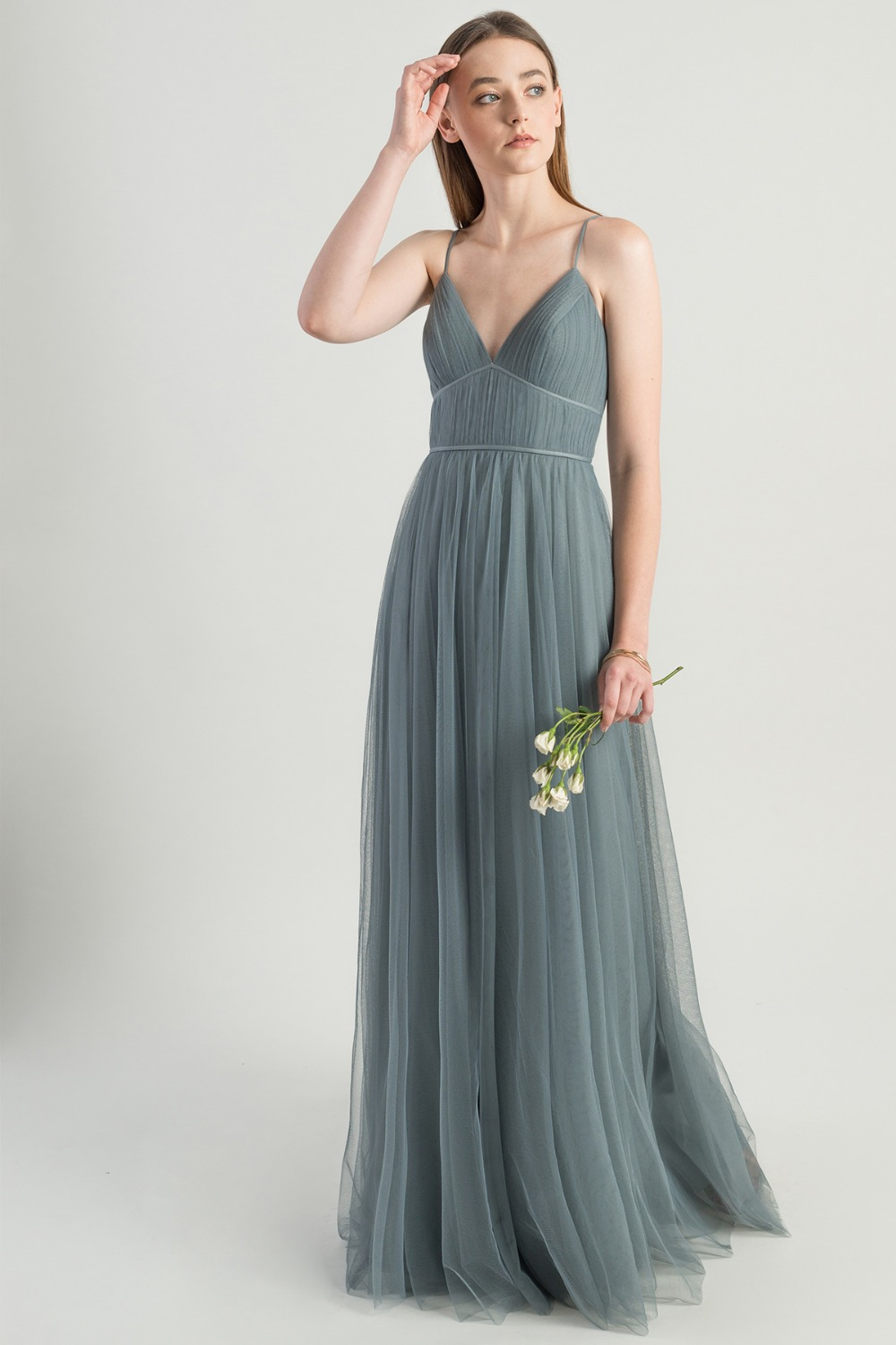 Ali Mayan Blue bridesmaid dress by Jenny Yoo