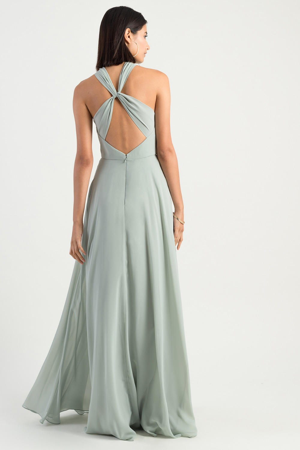 Halle Morning Mist bridesmaid dress by Jenny Yoo