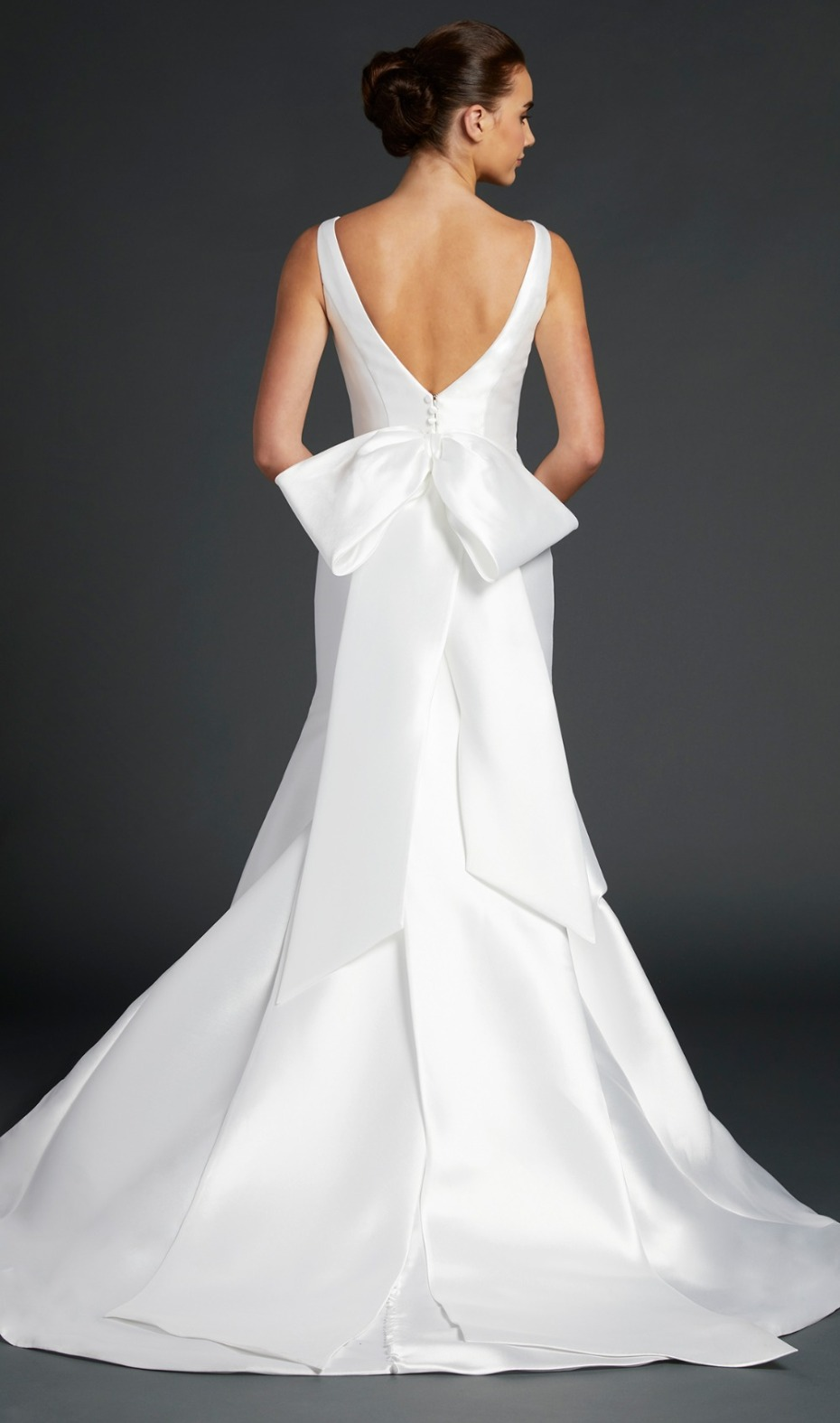 Anne Barge New 2019 Gown with Bow Back Detail