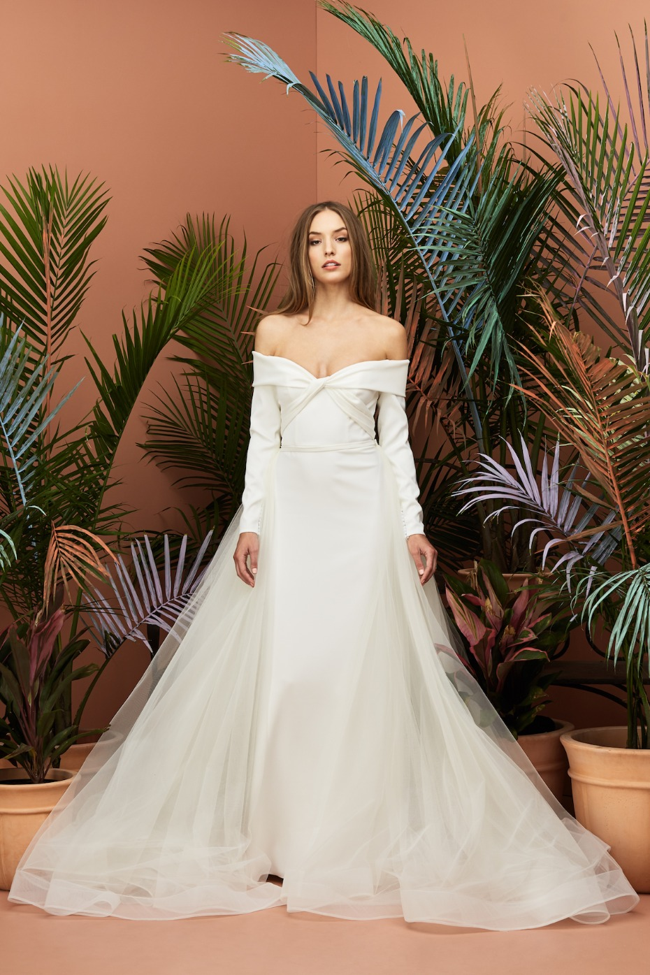 WToo Brides Sleeves and Criss Cross Bodice New 2019