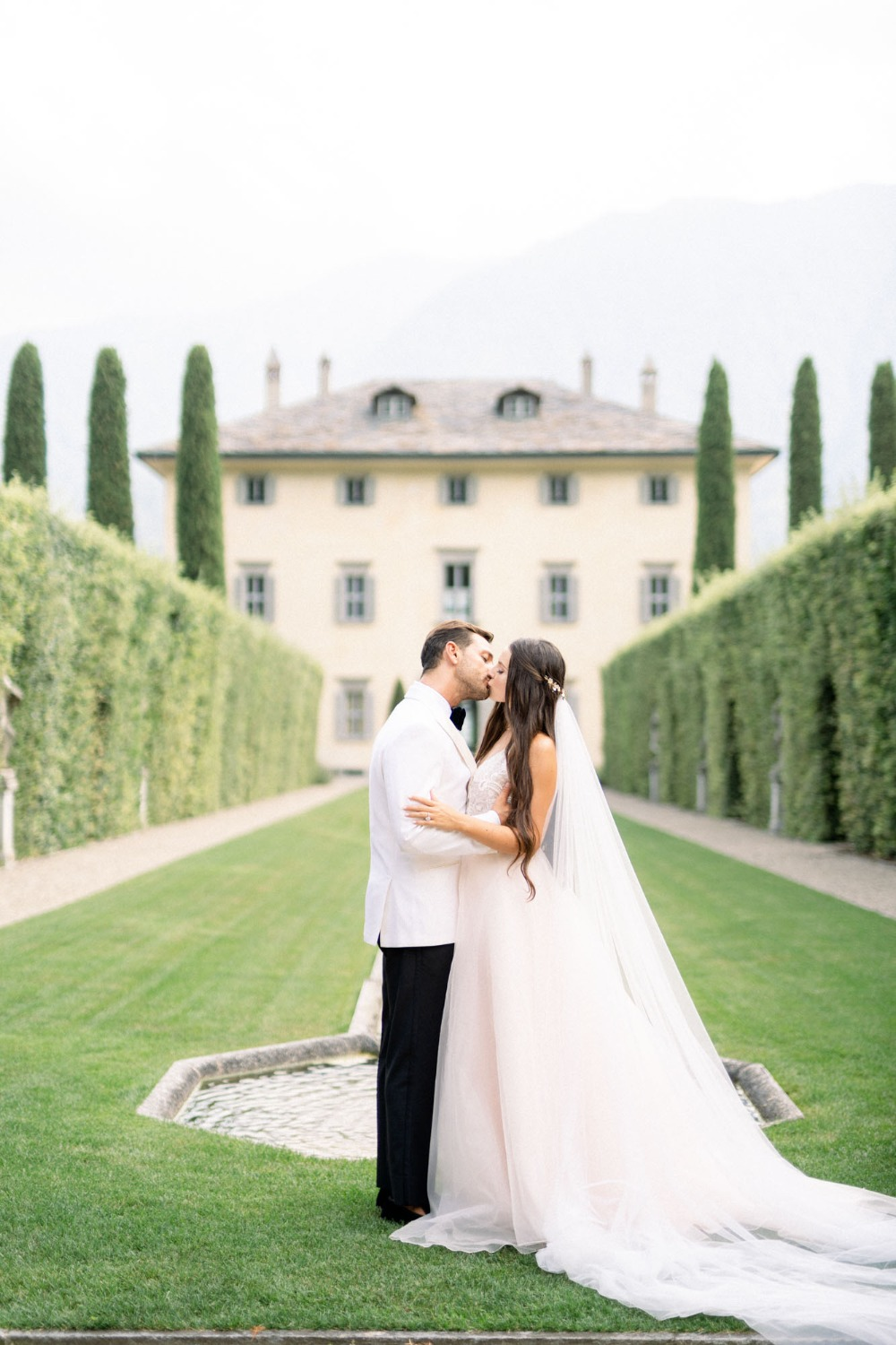Villa Balbiano wedding venue in Italy