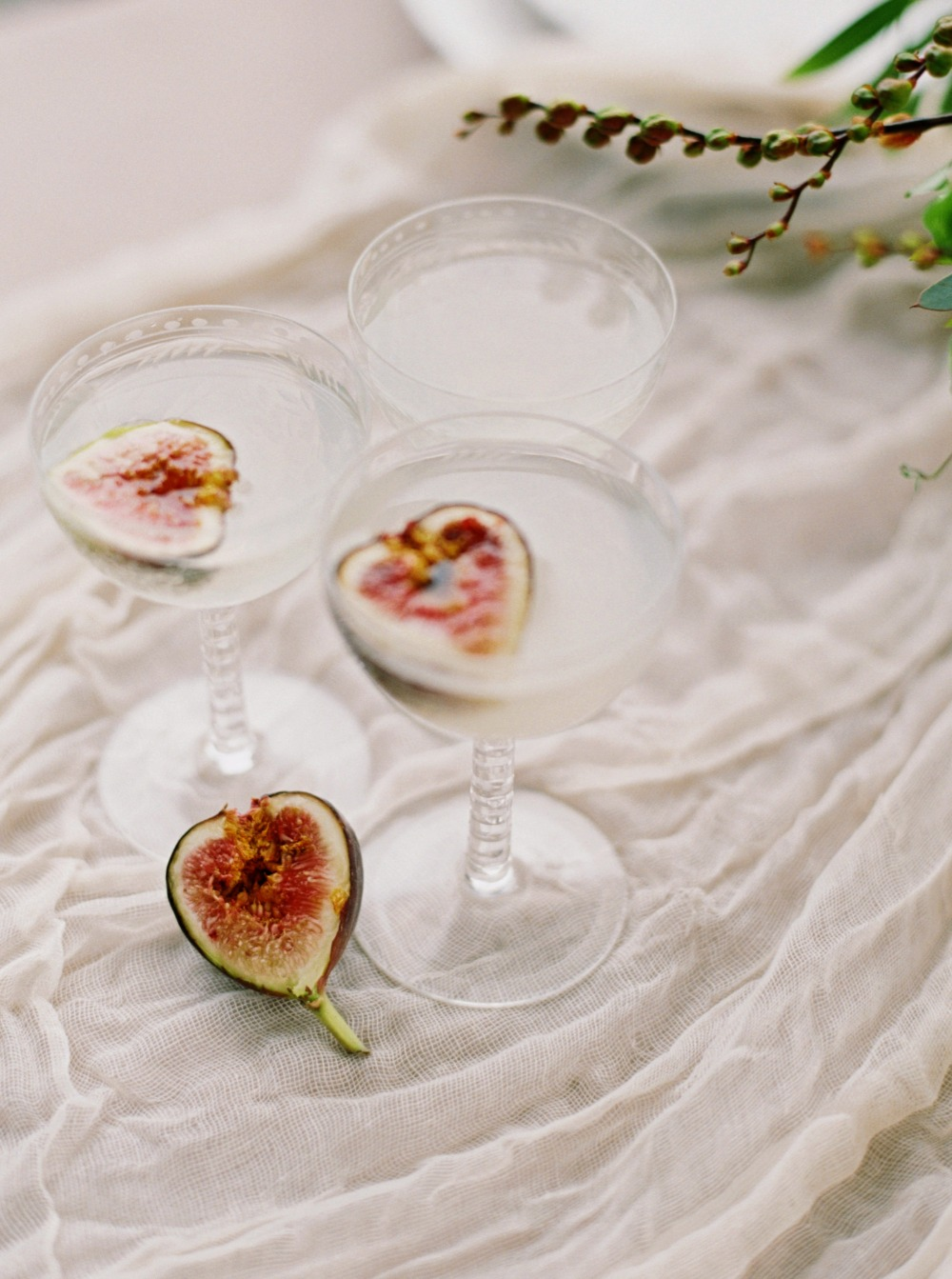 Fig wedding cocktail