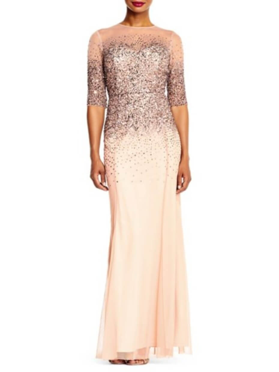 adrianna-papell-rose-gold-illusion-gown