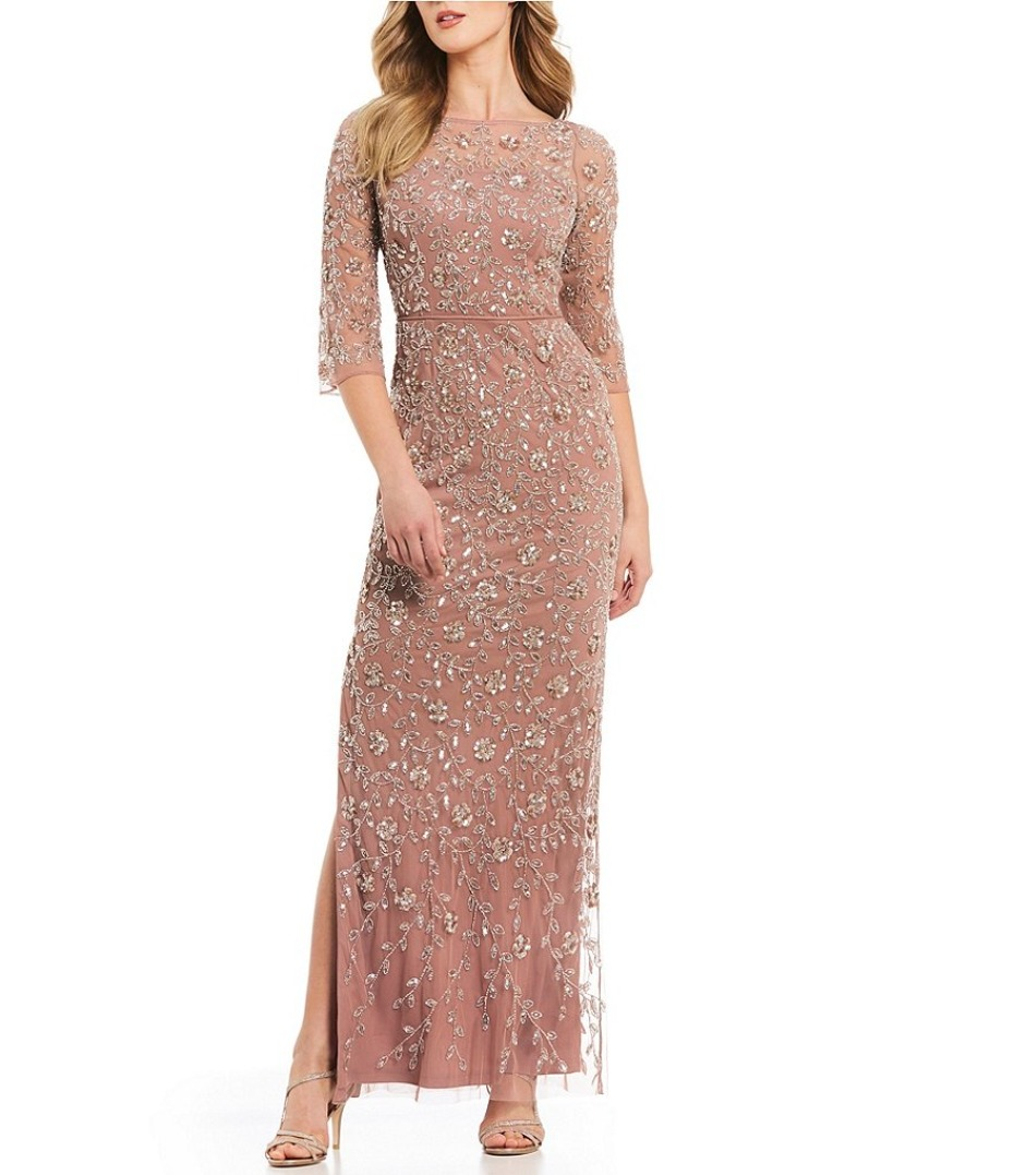 dillards-aidan-mattox-floral-beaded-blush-gown