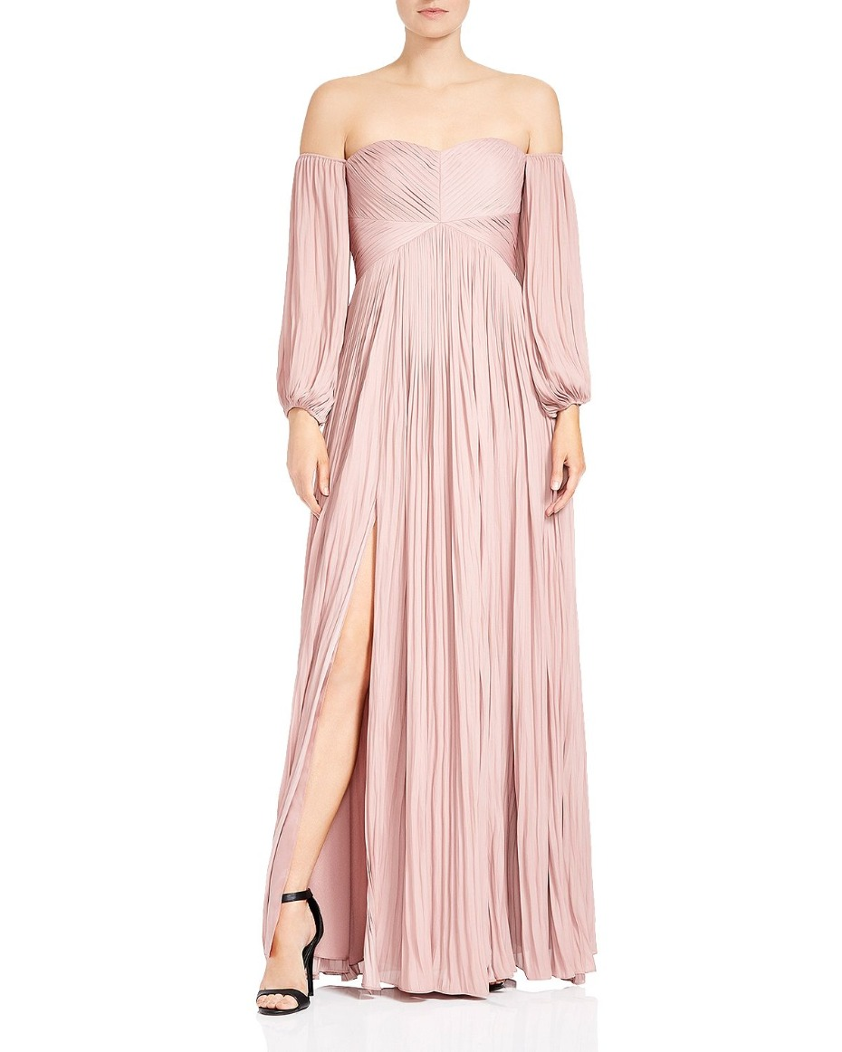 halston-heritage-blush-long-sleeve