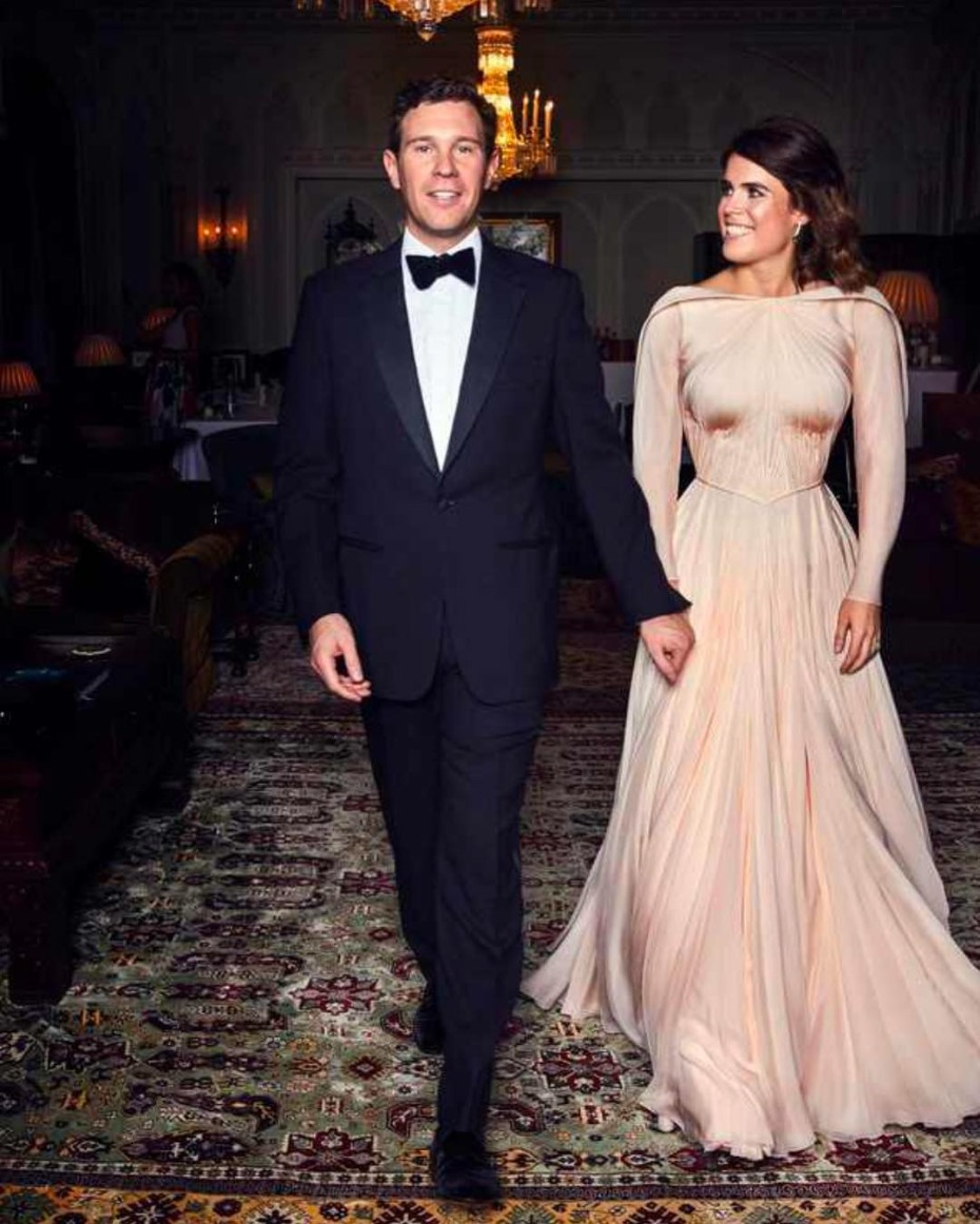 Princess Eugenie of York Zac Posen Reception Dress