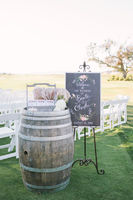 DIY Whiskey Barrel + 15 Whiskey Barrel Wedding Ideas