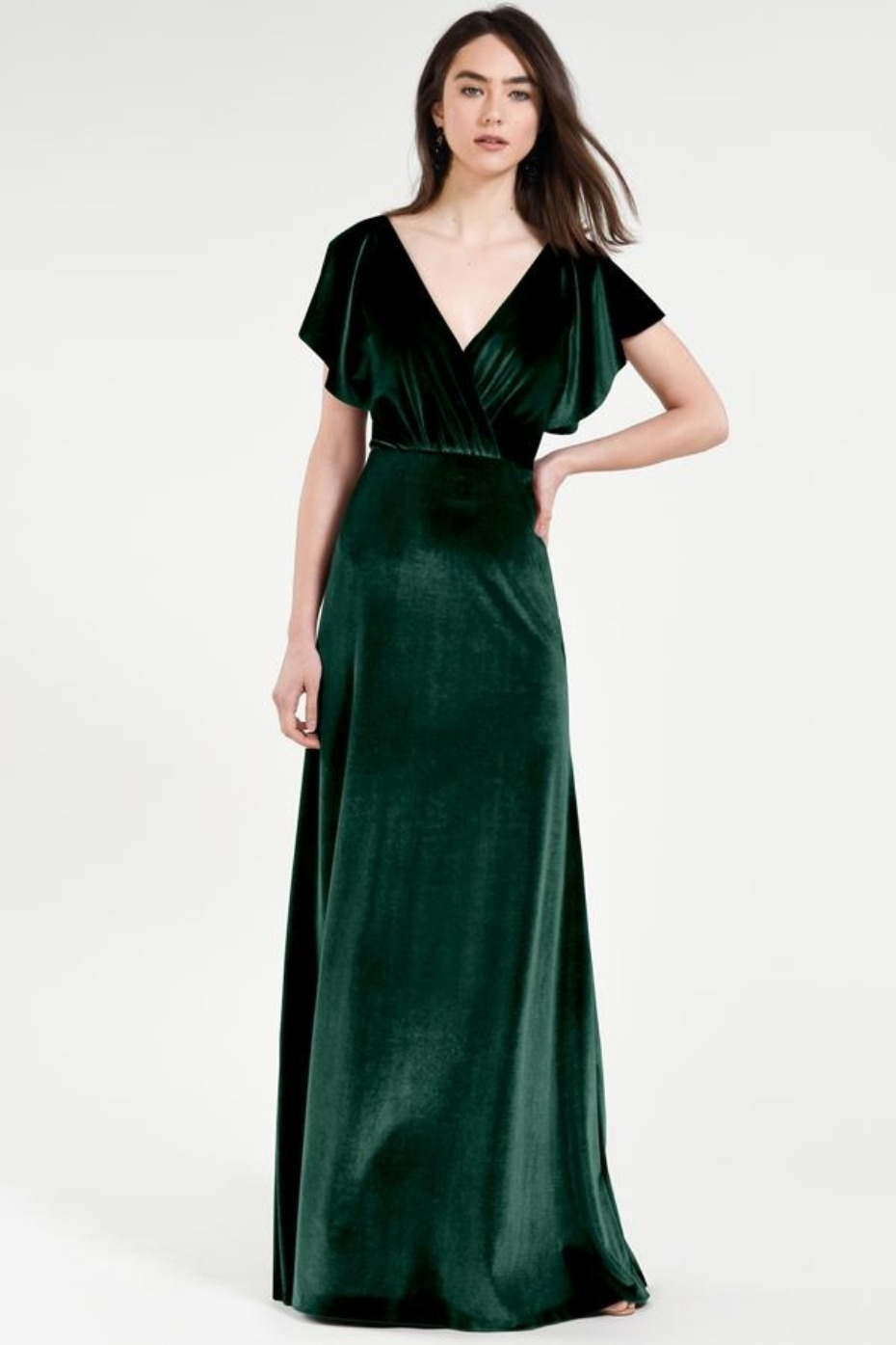 b26023de6c4e This Is Why You Say Yes to Velvet Bridesmaid Dresses
