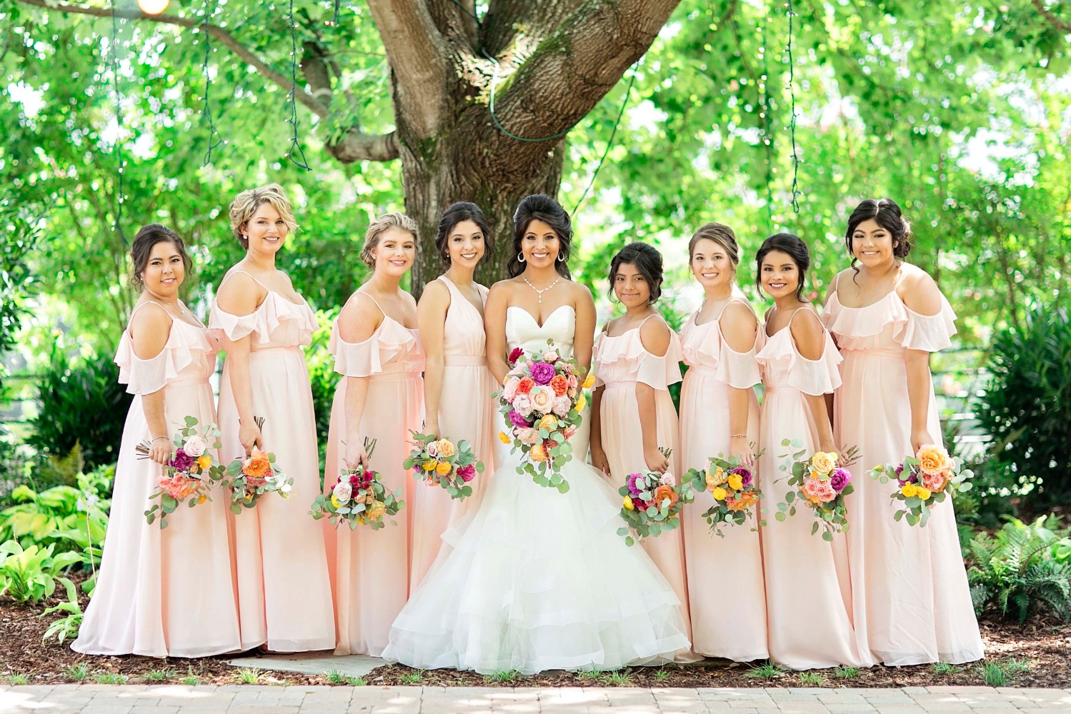 A Blush And Pink Love At First Sight Type Of Wedding