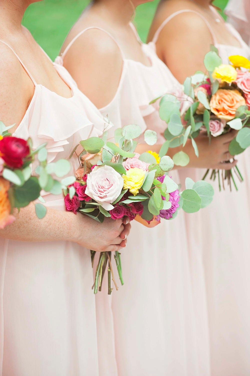 A Blush And Pink Wedding With A Hint Of Mexico