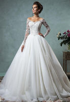 Top 10 Long Sleeve Lace Wedding Gowns
